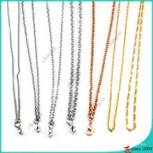 Vente en gros de bijoux à colliers à chaîne Locket (FN16040965)