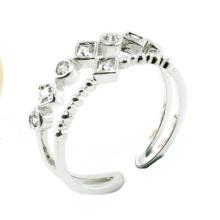 Anillo de plata de la joyería de la manera 925 de la mujer caliente de la venta (R10376)