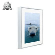 Home decorative silver metal aluminum photo frames a4