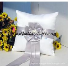 Chic flor nupcial almohada anillo de boda 2016