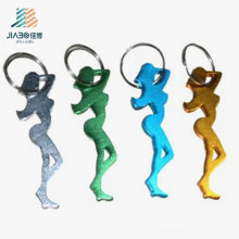 Custom Quality Alloy Sexy Girl Promotion Wine Bottle Opener