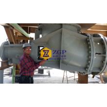 Bombas de flujo axial de acero inoxidable dúplex horizontal químico