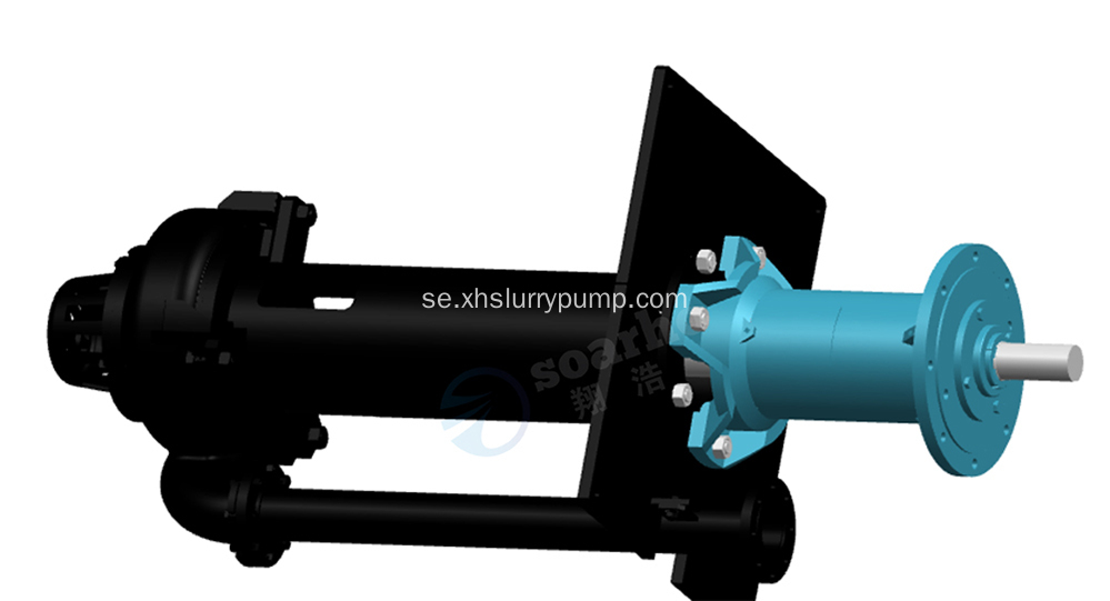 100RV-SPR Sump Slurry Gummi Pump