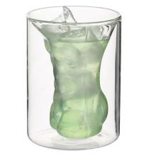 Muskelmann Form Schnapsglas