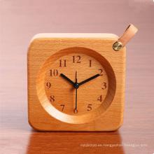 Relojes de madera educativos de alta calidad de la venta caliente para los niños