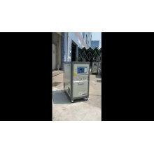Máquina refrigeradora de água pequena 1HP tipo aberto refrigerado a ar