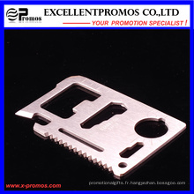 Grossiste Army Survival Pocket Multifunctional Creid Card Tool (EP-TS8127)