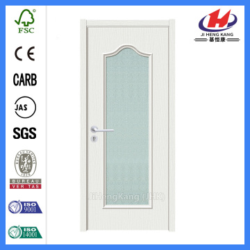 *JHK-G03 Bathroom Door White French Doors Interior Solid Wood White Doors
