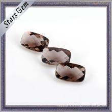 Brillant polissage Cushion Checker Cut verre pour bijoux