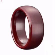 Venda quente atacado facetado moda cerâmica anel