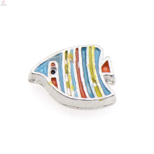 Fashionable colorful fish charms,fish pendant charms,fish floating locket pendant charms wholesale