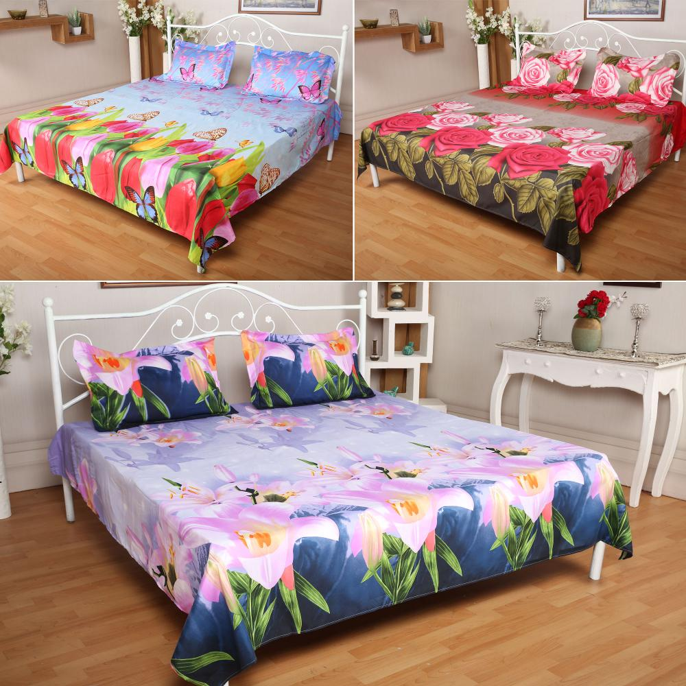 cotton digital print bedding fabric