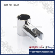T shape tube bathroom connect fitting/suspension clamp