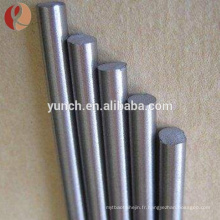 ASTM b348 haute qualité pure et alliage gr1 gr2 gr5 gr7 gr23 barre de tiges de titane