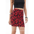 Custom Office Formal Skirt Style Smart Printed Adult Women Pencil Skirt
