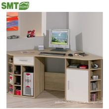 Европейский компьютерный стол для офиса / стол детский уголок деревянный цвет