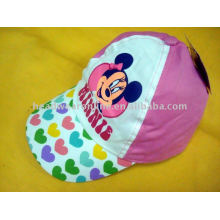 cartoon kid/children cap with printing