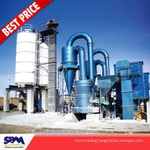 Gypsum, kaolin application mineral powder grinding mill for Vietnam
