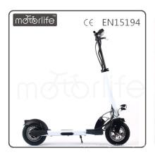 MOTORLIFE / OEM tout nouveau scooter électrique de 36v 350w 10 pouces avec le siège pour des adultes, scooter électrique de coup-de-pied