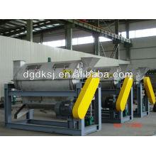 Máquina de secado centrífuga de granos plásticos de PS PP
