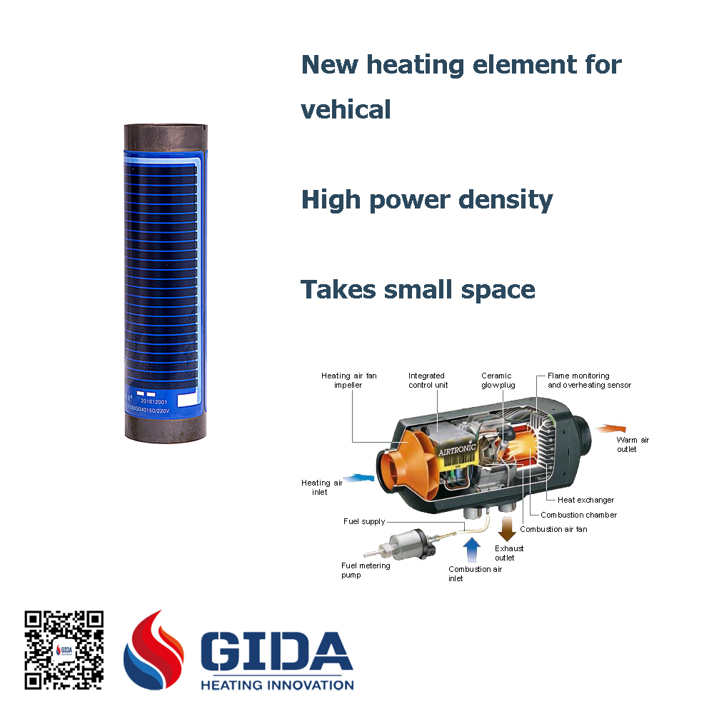 heating element for vehical