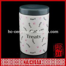 Frascos de cerâmica doce