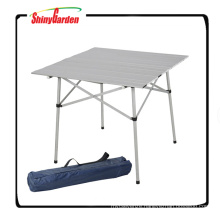Aluminum Roll Up Table Folding Camping Picnic Table