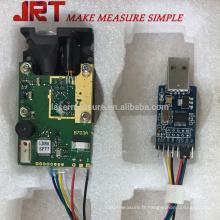 Module de mètre de distance d'équipement de laser de la classe 2 de la couleur 150M avec l'USB
