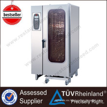 Equipo comercial Restaurant 20-Tray / Gn1 / 1 Electric Combi Steamer Oven