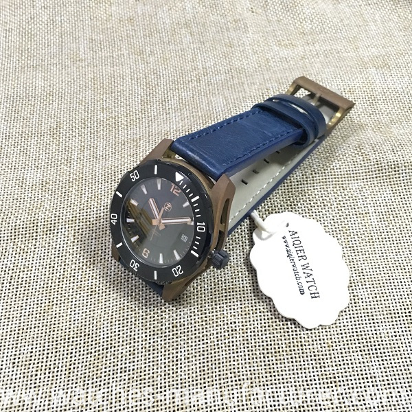 Bronze mechanical men watch
