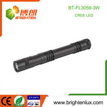 Fabrik Großhandel 2 * AA trockenen Batterie Zelle betrieben Handheld Aluminium Best Medical LED Taschenlampe für Ärzte