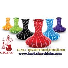 Calidad superior de color tamaño mediano cachimba botella