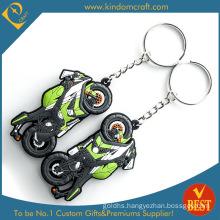 3D Feshion Motor Cycle Soft PVC Keychain