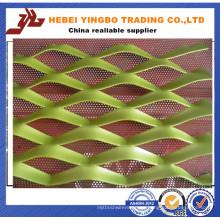 De alta calidad Mejor venta 2 m de ancho de estiramiento de malla de metal expandido
