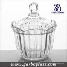 Crystal Glass Candy Jar, Glass Candy Pot