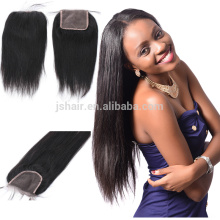 popular products brazilian human hair cheap free parting lace closure