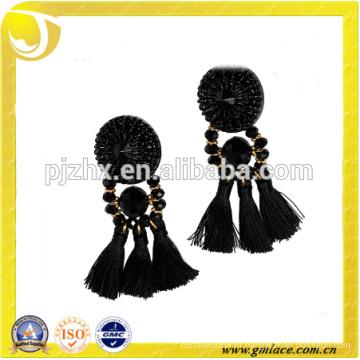 Китай Поставщик Свадебные платья Кожаные костюмы Металлическая серьга