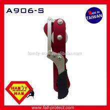 Скалолазание антипаника алюминиевые самоторможение безопасности альпинизма 9мм 12мм веревки Спусковое устройство стоп