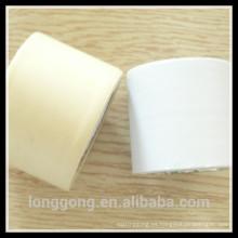 Blanco / crema / beige acondicionador de aire tubería cinta de embalaje