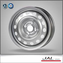 Precio de fábrica 5.5x14 ruedas de cromo borde de acero para el coche de pasajeros