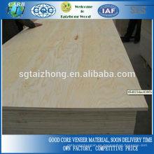 Contrachapado de pino 15 mm de construcción