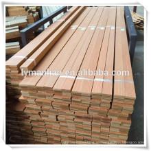 moldeado de madera de ingeniería de madera artificial precio barato zócalo