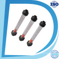 Plastic Acrylic Tube Flange Type Ss316L Guide Rod Flow Meter Rotameter