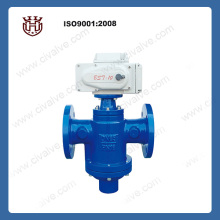 electric flow control valve for HAVC system