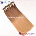Double Drawn Wholesale most popular 100% Unprocessed cuticle I Tip Hair