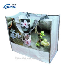 wholesale shiny laminated non woven recycle bag