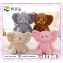 Stuffed Cute Deluxe Tailândia elefante animal brinquedo boneca de pelúcia