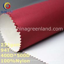 Tela maçante lisa tecida de Oxford do tafetá de nylon para o vestuário da barraca (GLLML286)