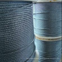7Х7 1X19 7x19 веревочка высокого качества веревочки провода нержавеющей стали (Фабрика, экспортер)
