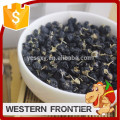 whole shape and dried style organic black goji berry